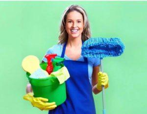 Любительница чистоты